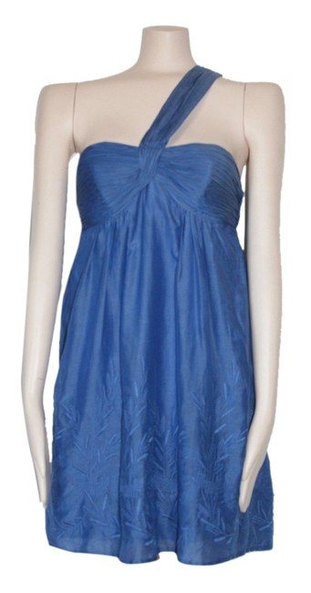 Preload https://item2.tradesy.com/images/bcbgmaxazria-blue-embroidered-above-knee-cocktail-dress-size-00-xxs-2908081-0-0.jpg?width=400&height=650