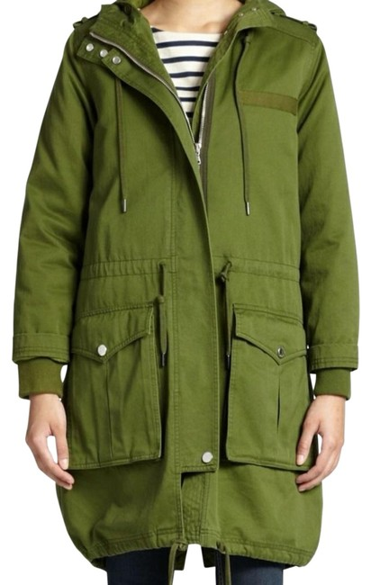 Item - Military Oliver Green Parka Jacket Size 2 (XS)