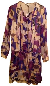 Diane von Furstenberg short dress Purple on Tradesy