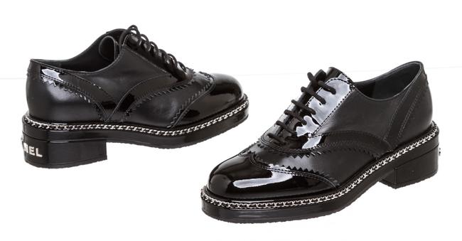 Item - Black Patent Leather Oxfords 504104 Formal Shoes Size EU 36 (Approx. US 6) Regular (M, B)