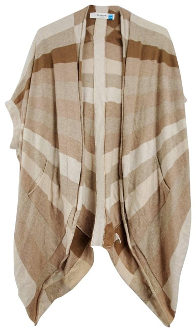 Item - Tan Sparrow Slouchy Open Front Sweater Cardigan Size 8 (M)