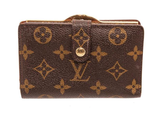Item - Brown Monogram Canvas French Wallet