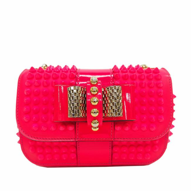 Item - Sweet Charity Chain Light Pink Leather Shoulder Bag