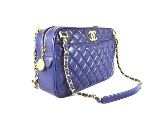 Chanel Cc Classic Camera A67618 Quilted Shoulder Bag