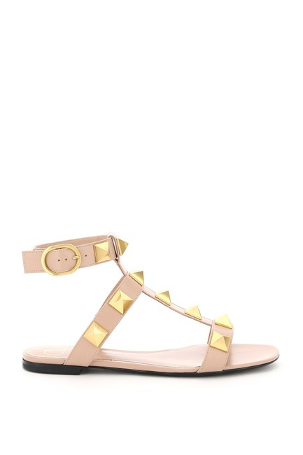 Item - Garavani Multicolored Roman Flat Stud Sandals Size EU 37 (Approx. US 7) Regular (M, B)