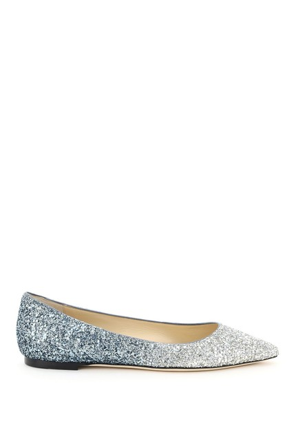 Item - Multicolored Gradient Glitter Romy Flats Size EU 35 (Approx. US 5) Regular (M, B)
