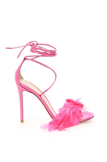 Item - Multicolored Zephir with Feathers Sandals Size EU 37 (Approx. US 7) Regular (M, B)