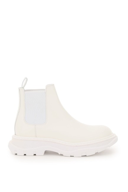 Item - White Chelsea Tread Boots/Booties Size EU 39 (Approx. US 9) Regular (M, B)