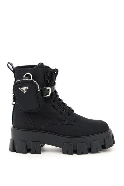 Item - Black Monolith with Pouch Boots/Booties Size EU 38 (Approx. US 8) Regular (M, B)