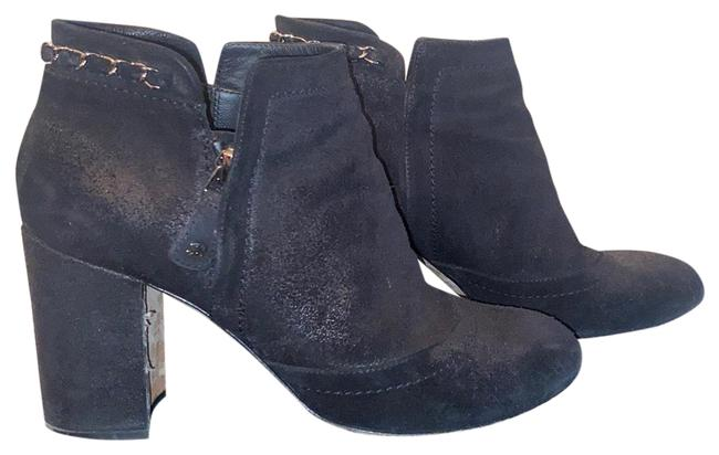 Item - Black Distressed Ankle Boots/Booties Size US 8 Regular (M, B)