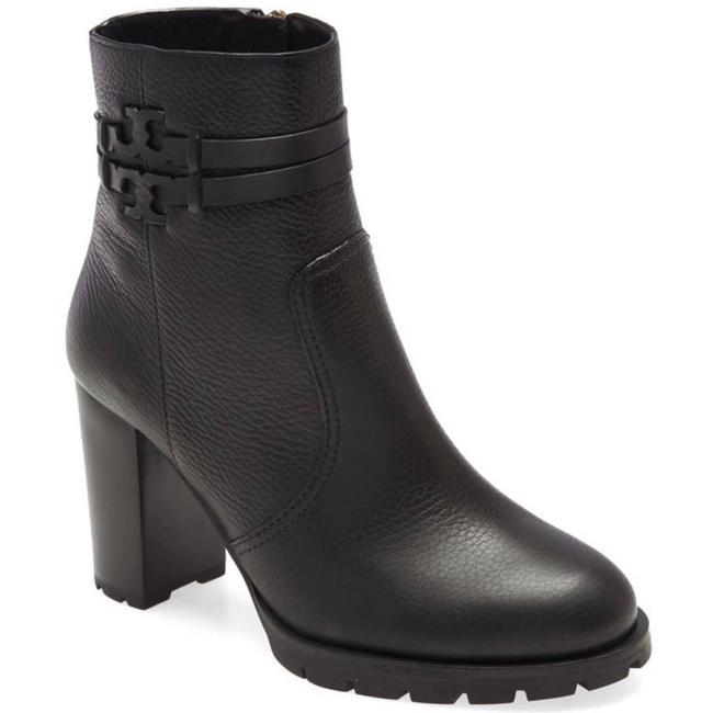 Item - Black Leigh 90mm Lug Sole Leather Boots/Booties Size US 8 Regular (M, B)