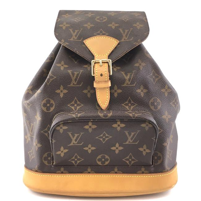 Item - Montsouris #41966 Rare and Discontinued Mm Mm Brown Monogram Canvas Backpack