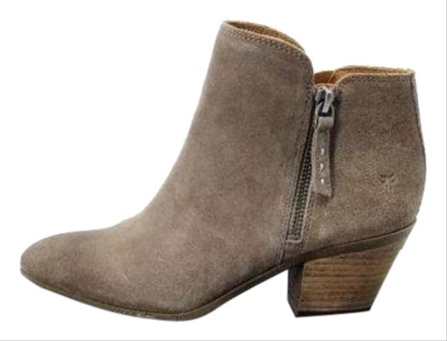 Item - Gray Brown Taupe Judith Zip Boots/Booties Size US 9.5 Regular (M, B)