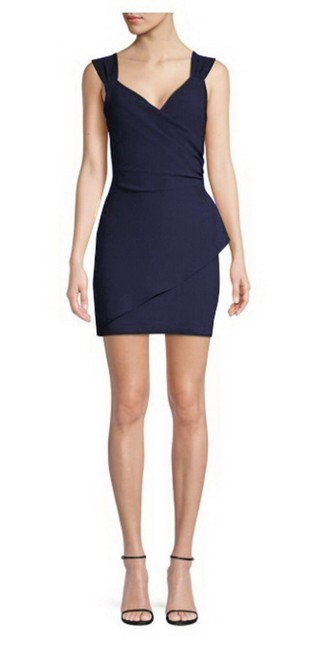 Item - Blue Talia Mini Short Cocktail Dress Size 8 (M)