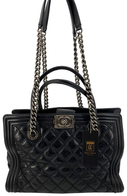 Item - Bag Boy Quilted Lambskin Tote