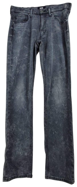 Item - Gray Lennox Distressed Bleached Washed Skinny Jeans Size 31 (6, M)