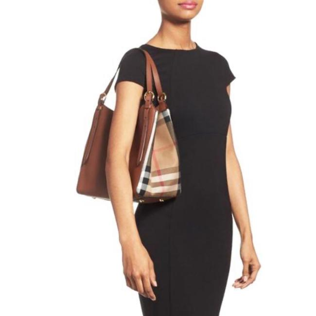 Item - House Check Canterbury Tan Leather Tote