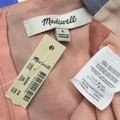 Madewell Pink Tie Front Cutout Sherbet Stripe Blue Pastel Short Casual Dress Size 4 (S) Madewell Pink Tie Front Cutout Sherbet Stripe Blue Pastel Short Casual Dress Size 4 (S) Image 10
