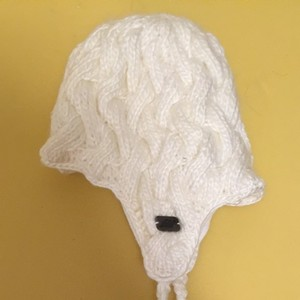 Eastern Mountain Sports White Winter Hat