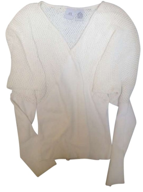 Preload https://img-static.tradesy.com/item/290839/ax-armani-exchange-white-sweaterpullover-size-4-s-0-0-650-650.jpg