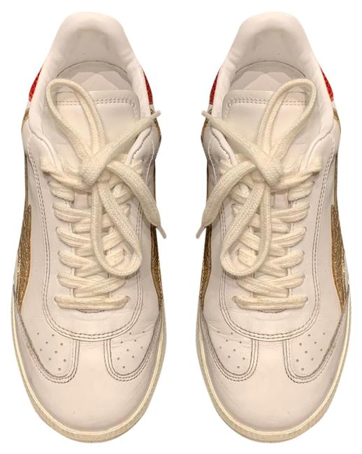 Item - White Whit Red and Gold Pink Bryce Sneakers Size US 7 Narrow (Aa, N)