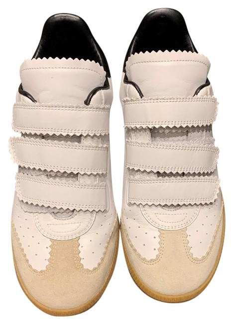 Item - White and Black Beth Sneakers Size US 7 Narrow (Aa, N)