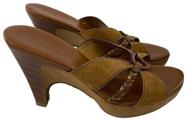 Item - Brown Sandals Suede Leather Pumps Size US 7.5 Regular (M, B)