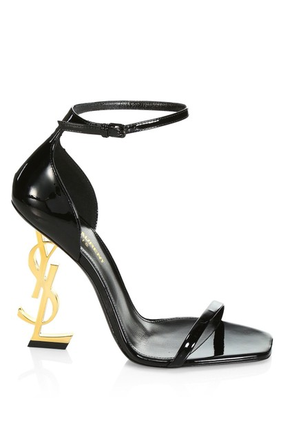 Item - Black Opyum Patent Leather Sandals Size EU 40 (Approx. US 10) Regular (M, B)