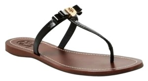 Tory Burch Black & Tan Flats