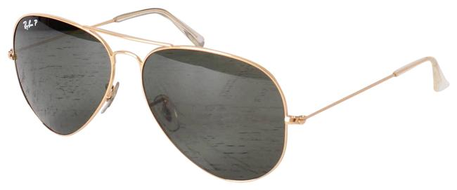 Item - Green Unisex Aviator Frames Gray Lens Uv Sunglasses