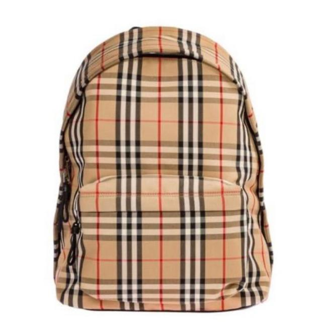 Item - Check Canvas Backpack