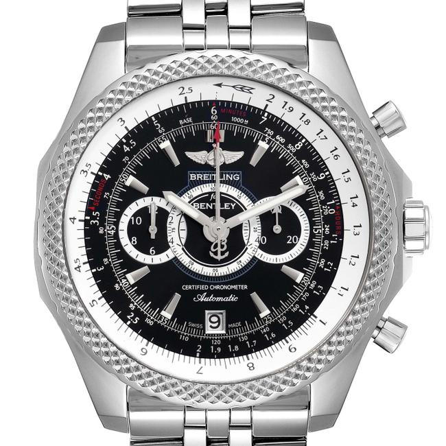 Item - Black and Silver Bentley Supersports Chronograph Limited Edition A26364 Watch