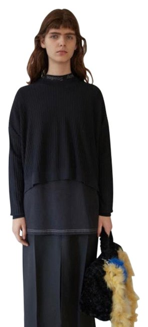 Item - Issy Ribbed Black Sweater