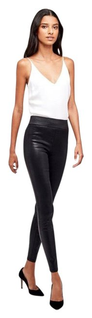 Item - Black Coated Rochelle Skinny Jeans Size 8 (M, 29, 30)