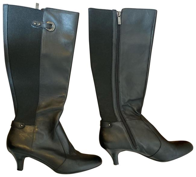 Item - Black and Silver Boots/Booties Size US 8.5 Regular (M, B)