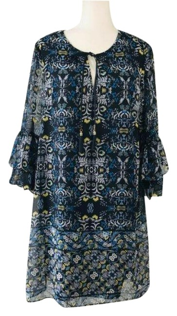 Item - Blue Short Casual Dress Size 16 (XL, Plus 0x)