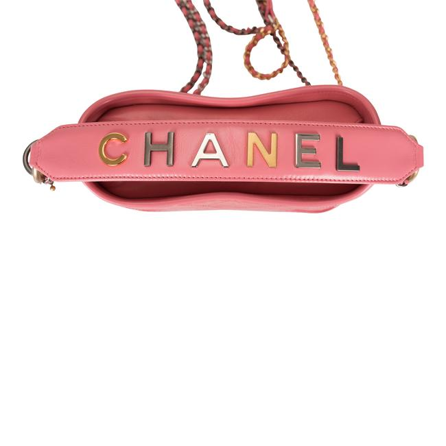 Chanel Gabrielle Hobo Quilted 20 Mixed Metal Hardware Pink Lambskin Leather Shoulder Bag Chanel Gabrielle Hobo Quilted 20 Mixed Metal Hardware Pink Lambskin Leather Shoulder Bag Image 7
