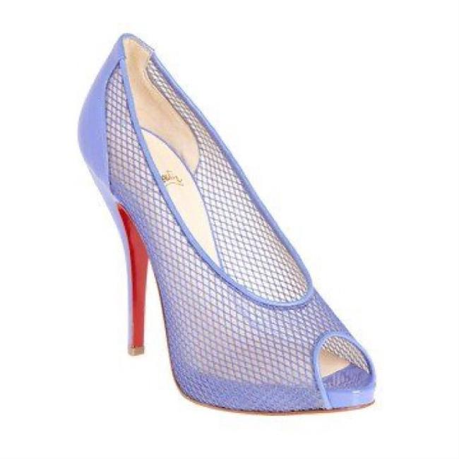 Item - Purple Felito Lavender Fishnet Pumps Platforms Size EU 38 (Approx. US 8) Regular (M, B)