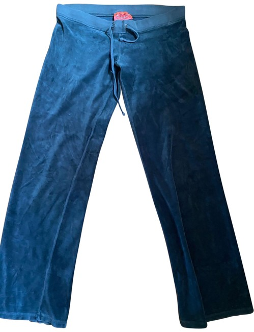 Item - Teal Velour Pants Size 6 (S, 28)