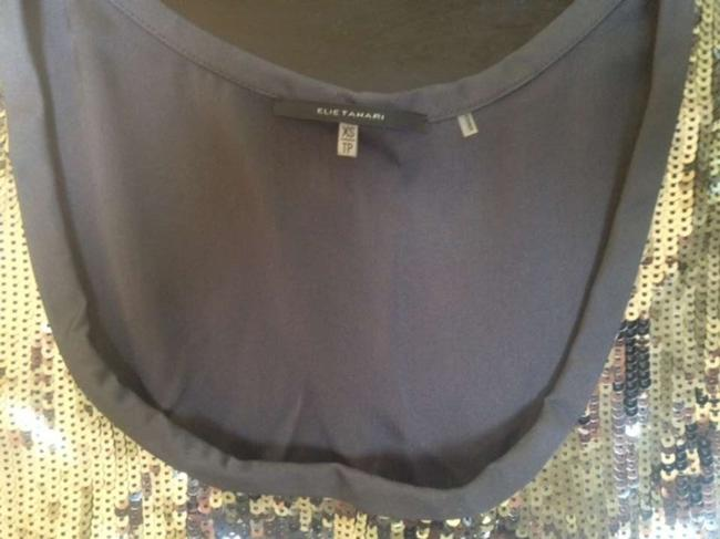 Elie Tahari Top Grey