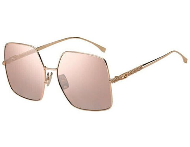 Item - Gold Ff0439s-ddb2s Copper/ Pink Flash Silver Sunglasses