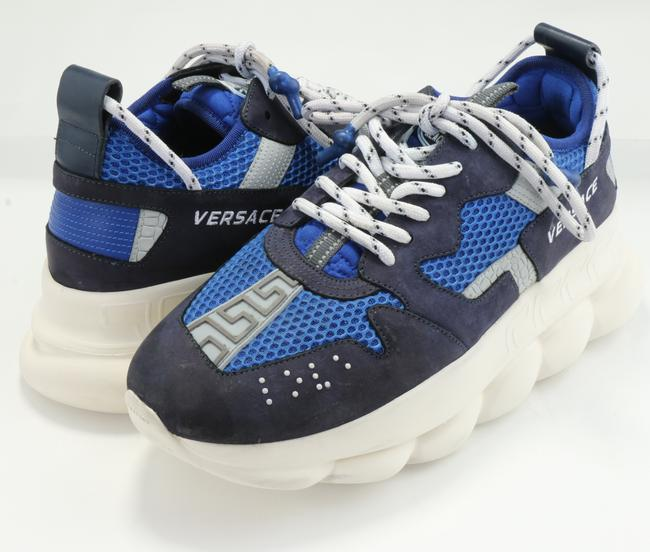 Item - Blue/White Chain Reaction 2 Sneakers Shoes
