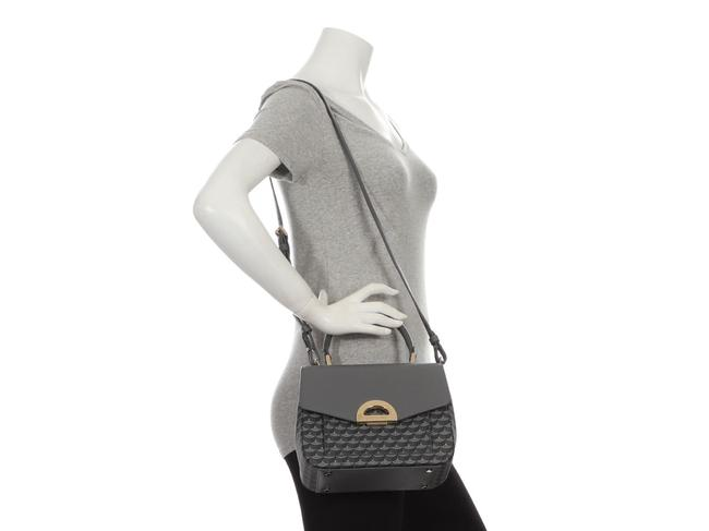 Fauré Le Page Parade 23 Gray Coated Canvas Satchel Fauré Le Page Parade 23 Gray Coated Canvas Satchel Image 9