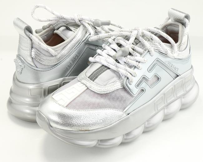 Item - Silver Chain Reaction Sneakers Shoes