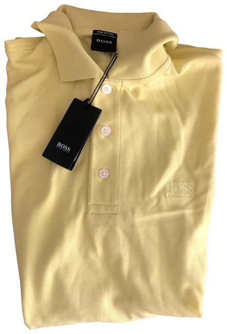 Item - Yellow Polo Tee Shirt Size 8 (M)