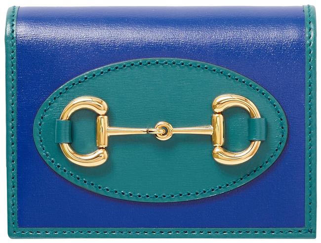 Item - Royal Blue Horsebit 1955 Two-tone Leather Wallet