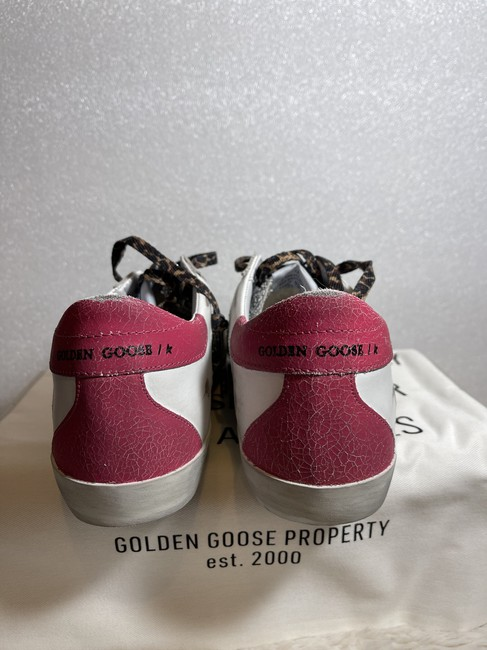 Golden Goose Deluxe Brand Silver Superstar Distressed Glittered Leather Sneakers Size EU 35 (Approx. US 5) Regular (M, B) Golden Goose Deluxe Brand Silver Superstar Distressed Glittered Leather Sneakers Size EU 35 (Approx. US 5) Regular (M, B) Image 9