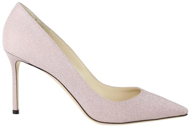Item - Pink Romy Glitter 85mm Pointed Toe Pumps Formal Shoes Size EU 41.5 (Approx. US 11.5) Regular (M, B)