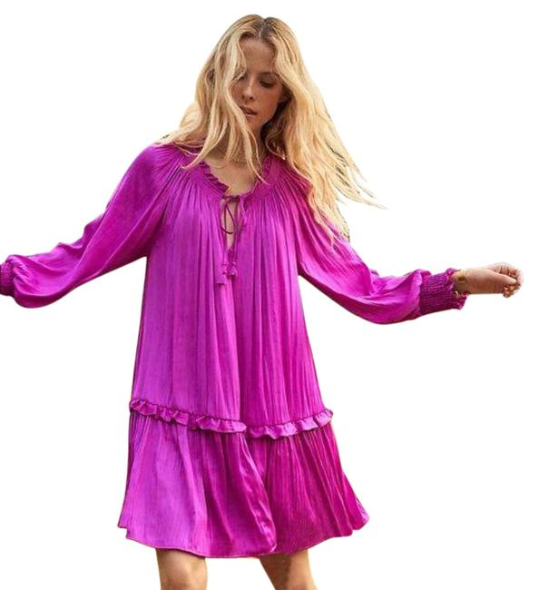 Item - Pink Giulia Tunic In Short Casual Dress Size 0 (XS)