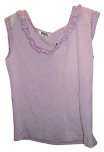 Miguelina Summer Cotton Top lavender